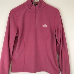 The North Face Pink Fleece Pullover L